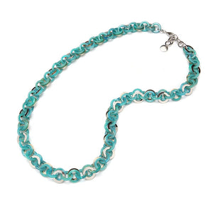 Sea Chain Resin Necklace Lagoon