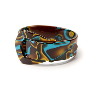 Buckle Resin Bracelet - 20mm Water