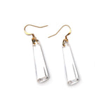 Crystal Drop Resin Earring - Small Crystal