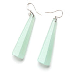 Spectrum Drop Resin Earring - Large Jade