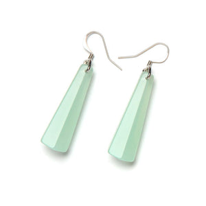 Spectrum Drop Resin Earring - Small Jade