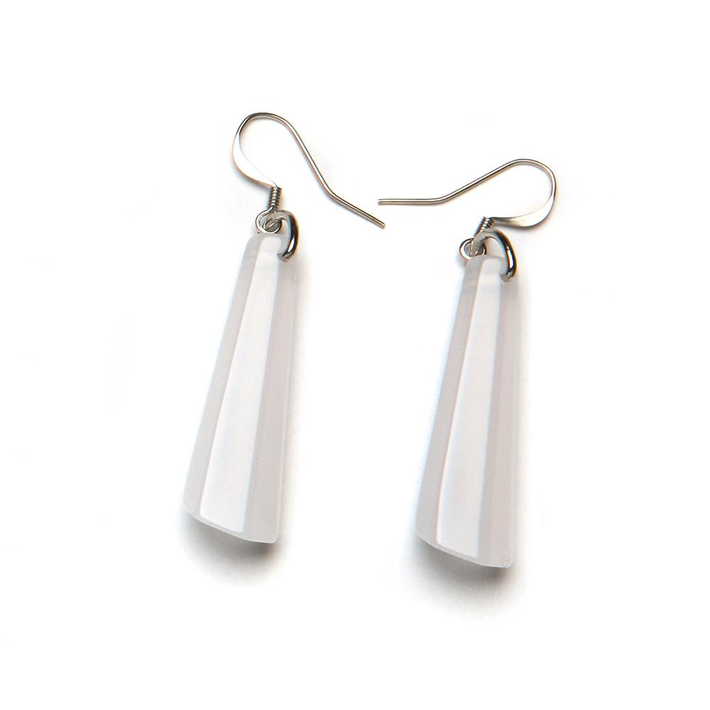 Spectrum Drop Resin Earring - Small Opaline