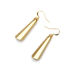 Barile Drop Resin Earring - Small Gold