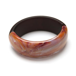 Gemini Resin Cuff Mulberry