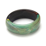 Gemini Resin Cuff Rainbow