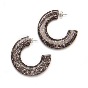 Gia Resin Earring Bronze