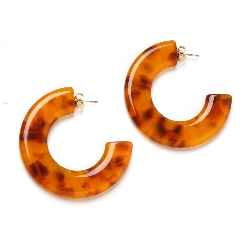 Gia Resin Earring Honey