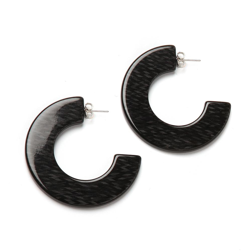 Gia Resin Earring Panther