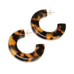 Gia Resin Earring Tshell