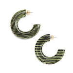 Gia Resin Earring Fern