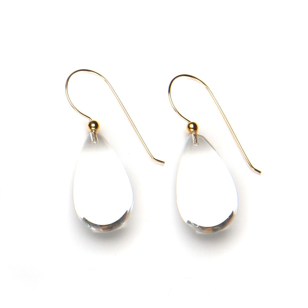 Raindrop Resin Earring Crystal
