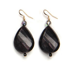 Nancy Resin Earring Blackcherry