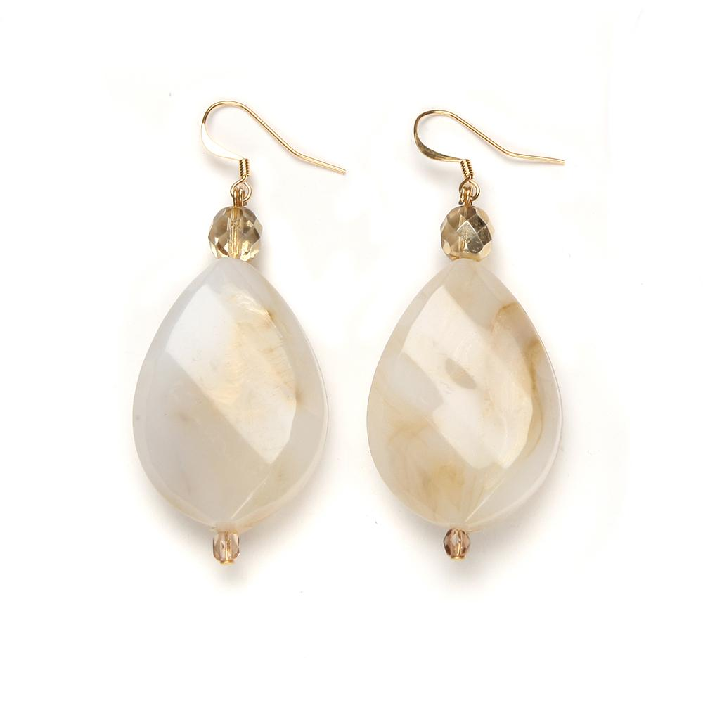 Nancy Resin Earring Dune