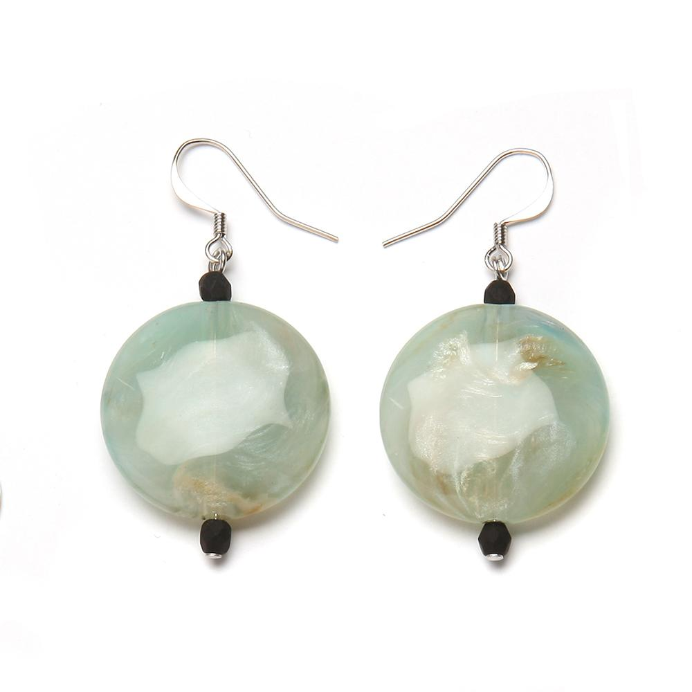 Brie Resin Earring Jade