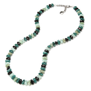Desi Resin Necklace Jade