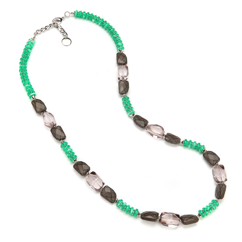 Danise Resin Necklace Emerald
