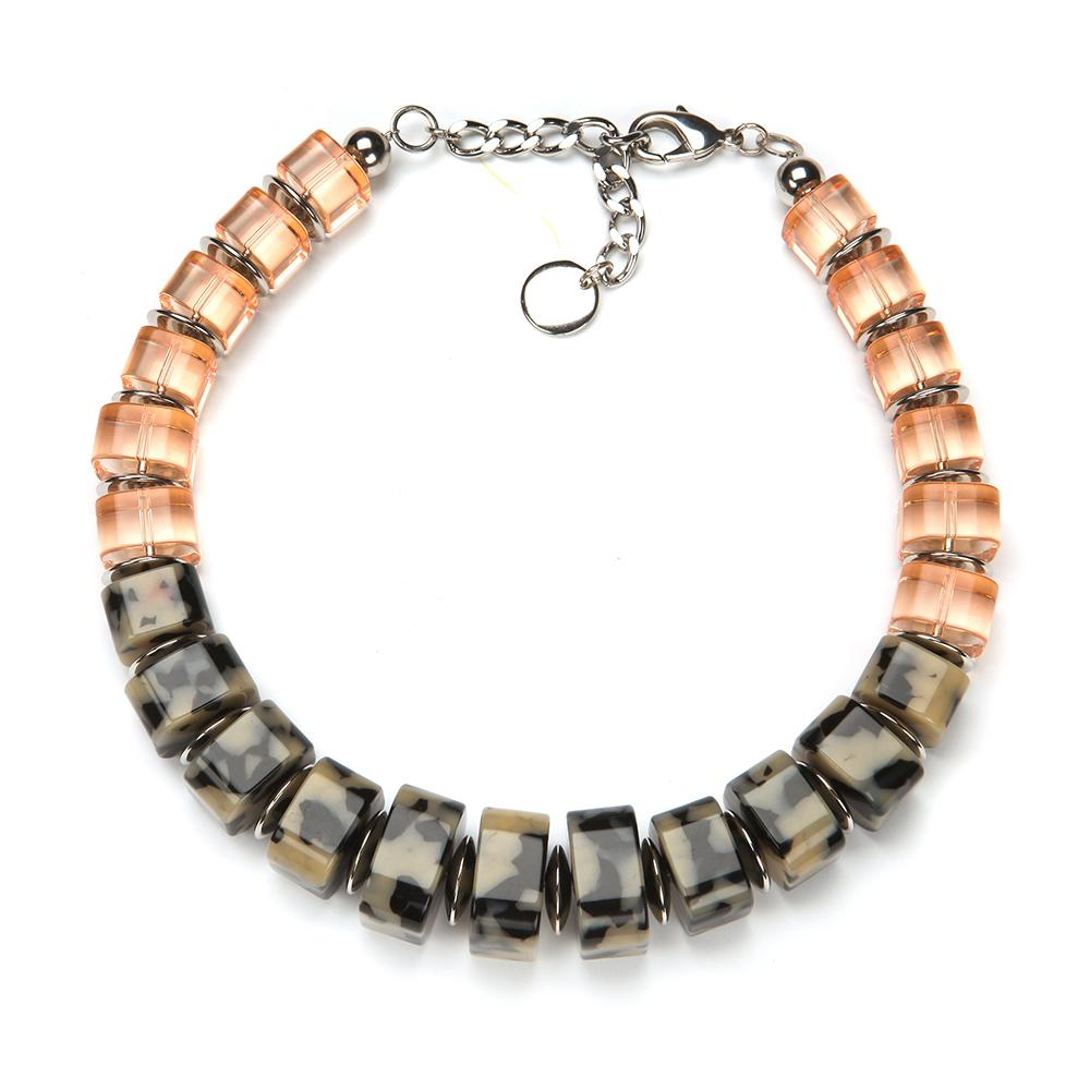 Darcy Resin Necklace Havana