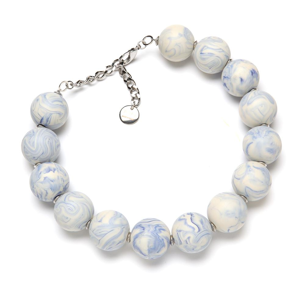 Bella Resin Necklace Wedgewood
