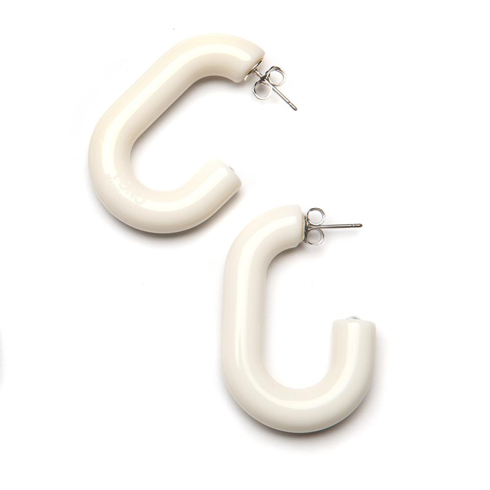 Mini Margo Resin Earring Latte