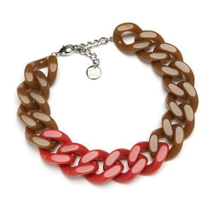 Joelle Resin Necklace Peanut