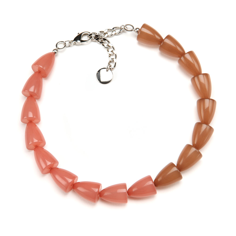 Kit Resin Necklace Blush