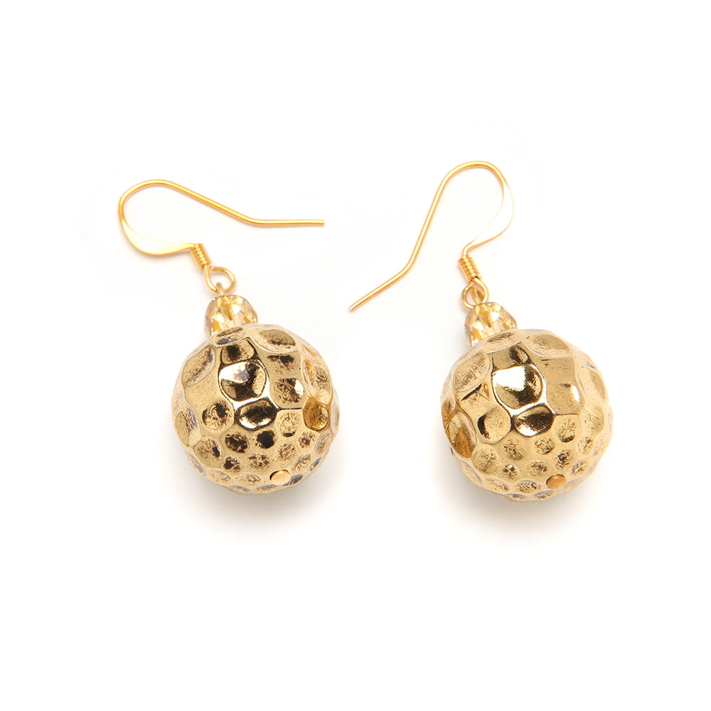 Amara Resin Earring Oro
