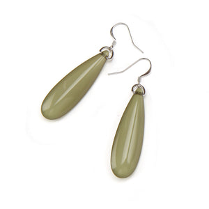 Silvia Resin Earring Moss