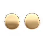 Alchemy Riverstone Resin Clip Earring Gold