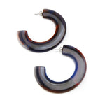 Not an Infinity Hoop Resin Earring Seaside