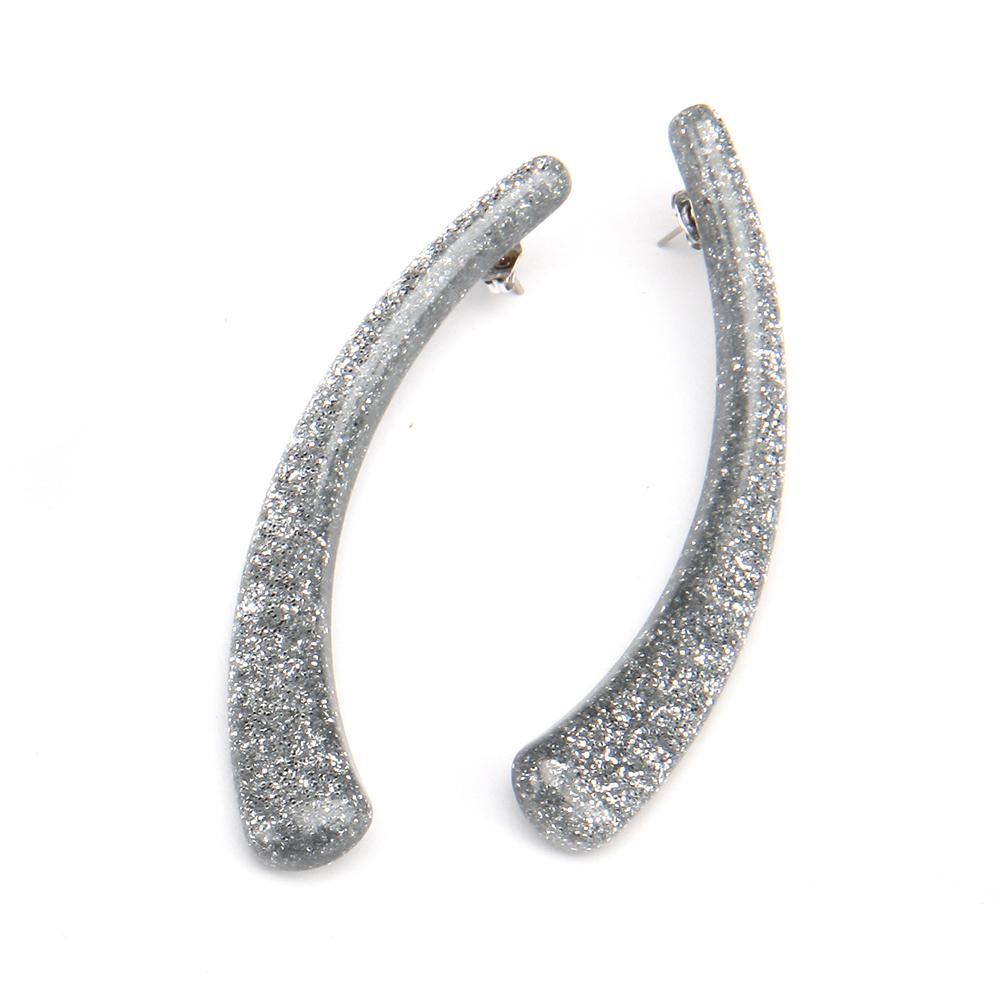 Sparkle Horn Resin Earring Sparkle