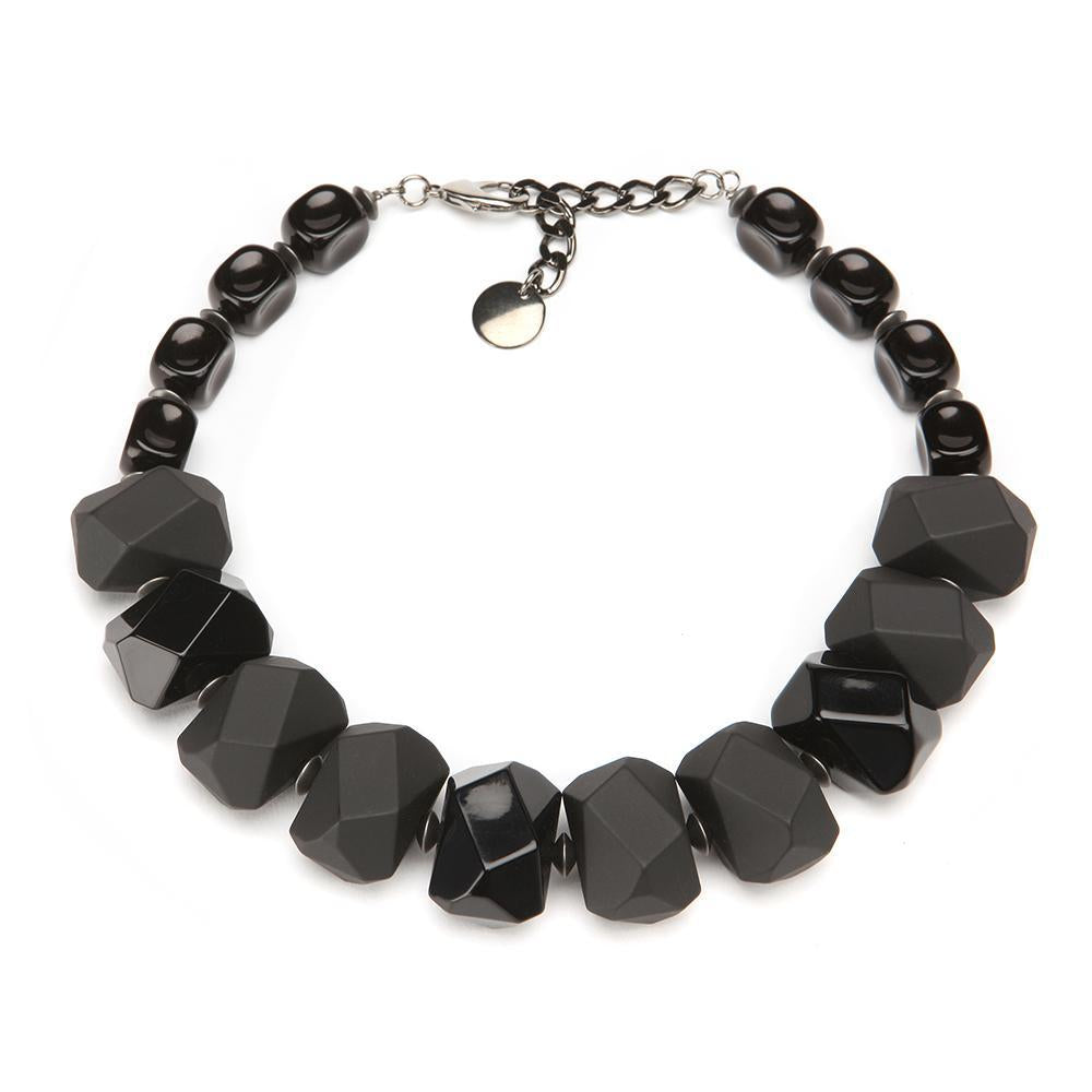 Stella Resin Choker Matte Black