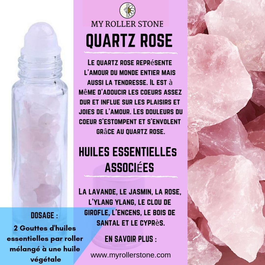 Roll-on quartz rose