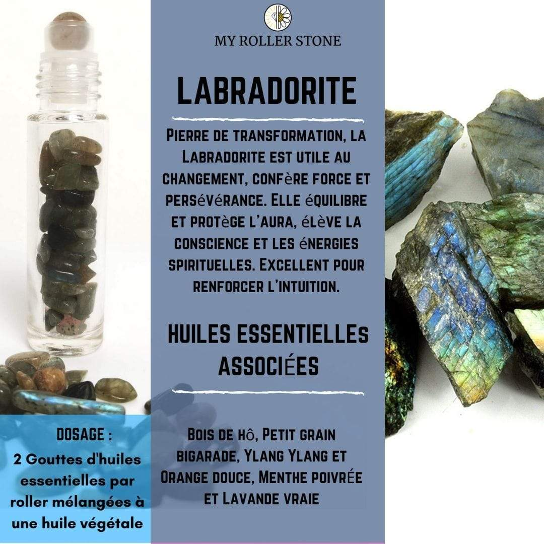Roll-on labradorite