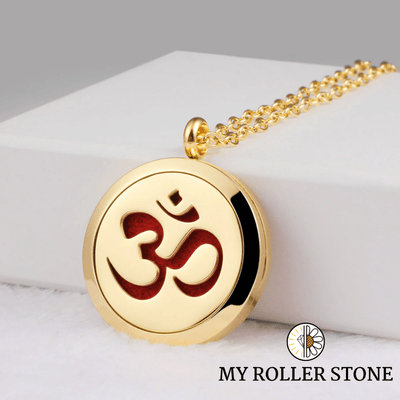"My roller stone Or Collier ""OM"" 2 modèles"""