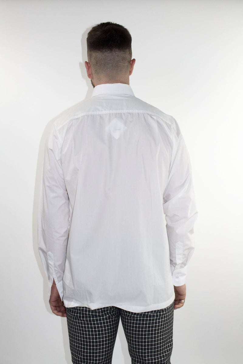 MATTHEW MILLER Ceaser White Fitted Shirt