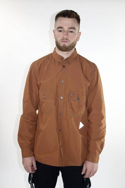 AND WANDER Burnt Orange Shirt