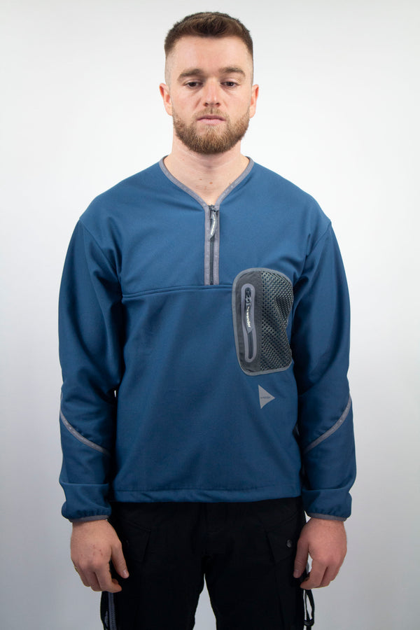 AND WANDER light fleece pullover