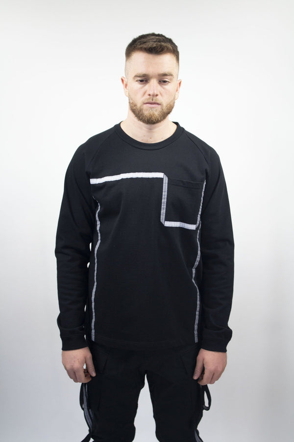 WHITE MOUNTAINEERING Taped Long Sleeved Shirt
