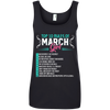 March Rules Girl