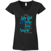 I Am July Girl - Stronger Braver Smarter