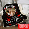 I Love You Till The End of Time - Custom Blanket