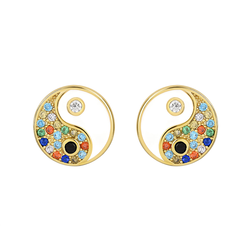 Xio Yin Yang Earrings