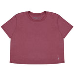 Mauve Bolt Crop Top