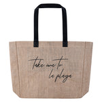 Take Me to La Playa Beach Bag