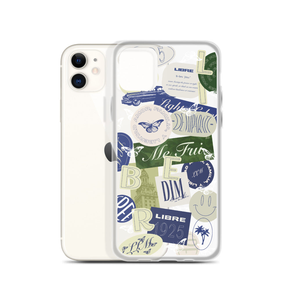 Libre Clear Phone Case - iPhone