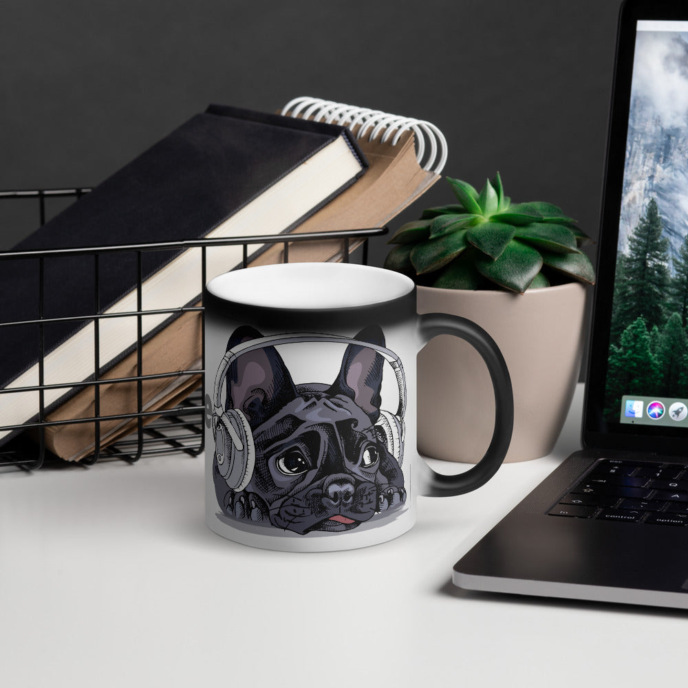 French Bulldog Colour Changing Mug