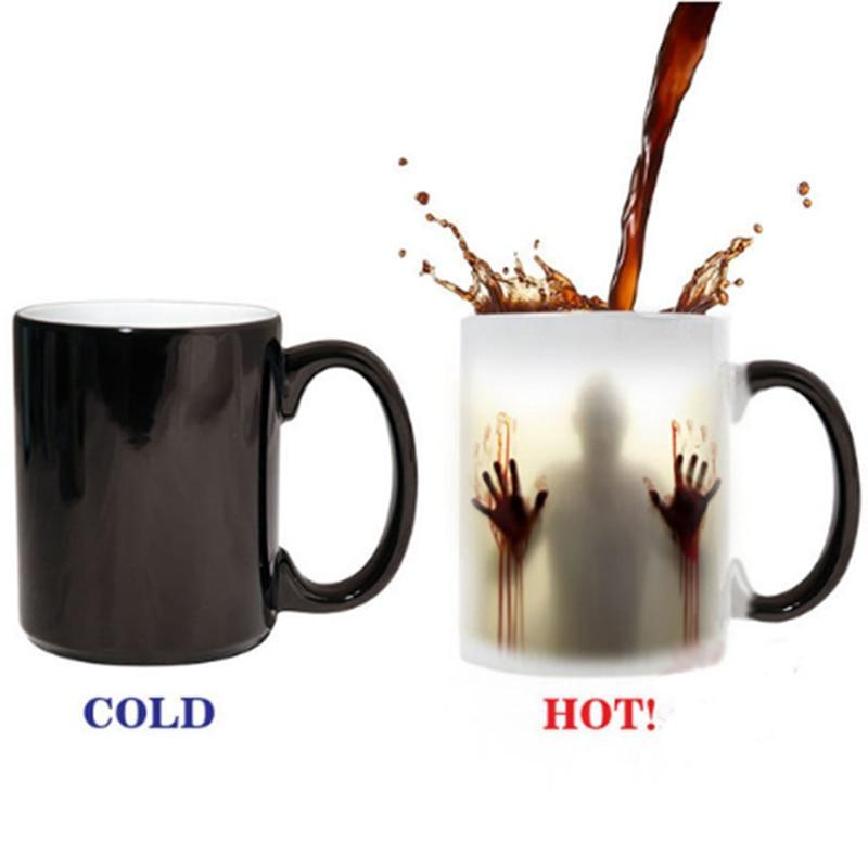 The Zombie Heat Sensitive Colour Changing Mug,