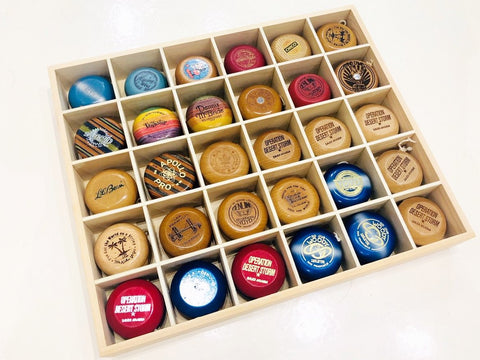Custom Wooden Yo-Yo Display Case