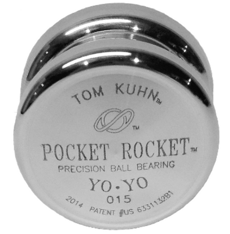 Tom Kuhn POCKET ROCKET – HIGH-PERFORMANCE MINIATURE ALUMINUM YO-YO