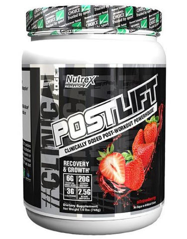 Postlift Post-Workout (20 servings, 1.7 lb)